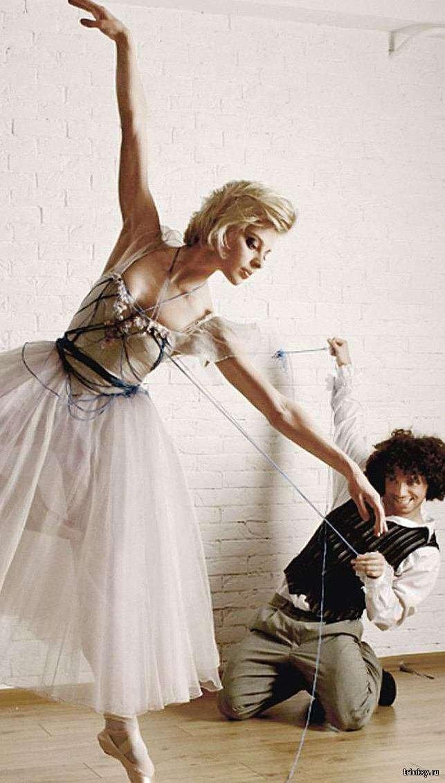 Балерина Великого театру Ольга Дьоміна зникла після непристойною фотосесії (3 фото)