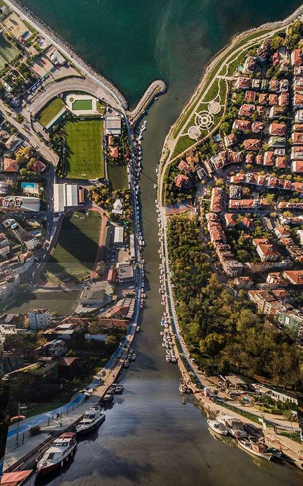 Стамбул в двомірному стилі (10 фото)