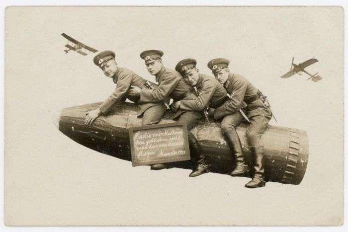 Забавні армійські фото, 1912 - 1945 (24 фото)