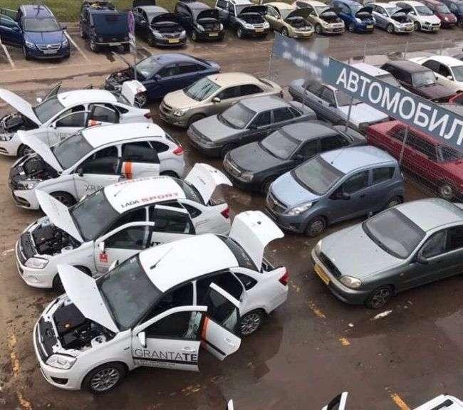 Автодилер і затоплені автомобілі (3 фото)