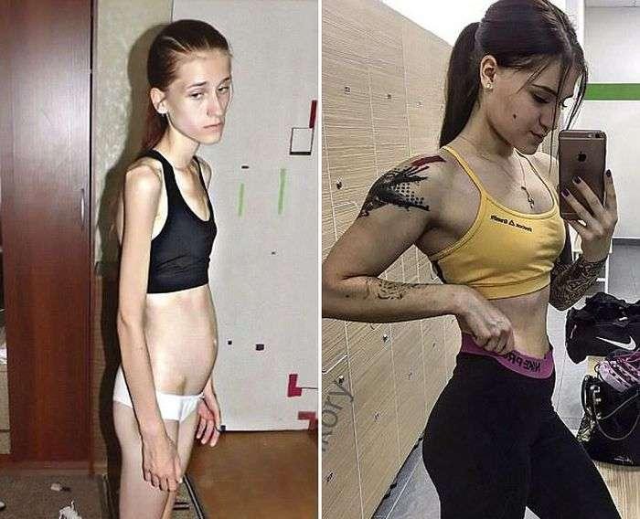 Віра Шульц – дівчина, поборовшая анорексію і стала фітнес-тренером (9 фото)