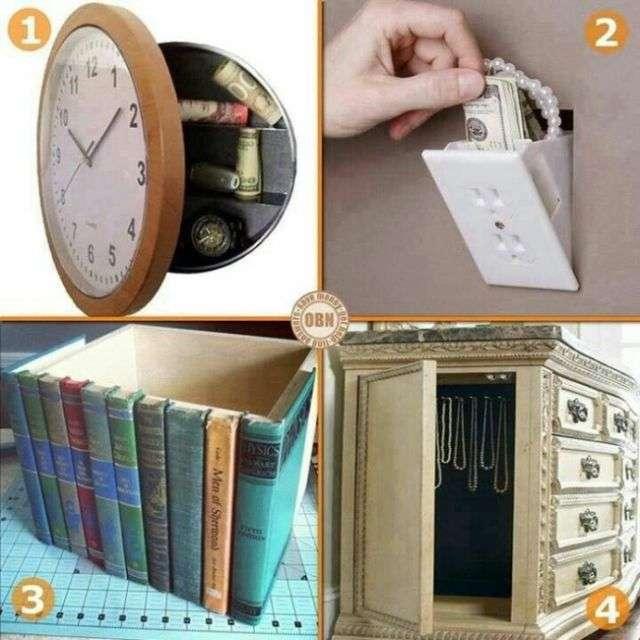 Ідеї домашніх схованок (14 фото)