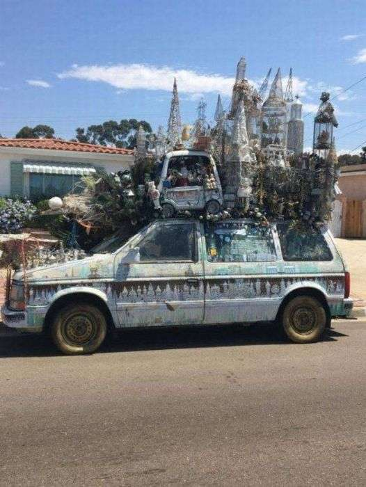 Дивні автомобілі (32 фото)