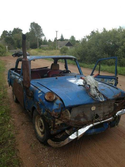 Бюджетний ремонт автомобілів і його наслідки (28 фото)