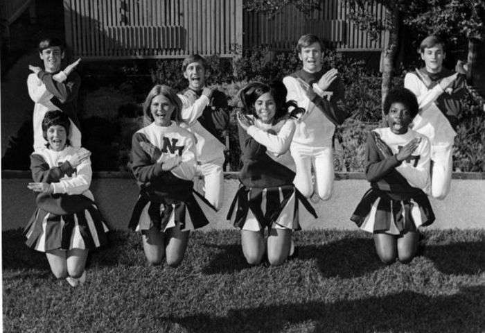 Американський чірлідінг в 70-е - 80-е роки (32 фото)