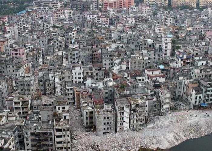 Китайська село посеред хмарочосів Гуанчжоу (17 фото)