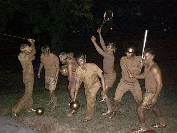 Оригінальні костюми на Хеллоуїн (30 фото)
