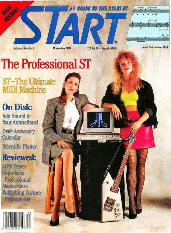 Обкладинки компютерних журналів 80 - 90-х років (20 фото)