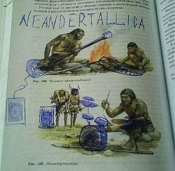 Забавні малюнки в шкільних підручниках (32 фото)