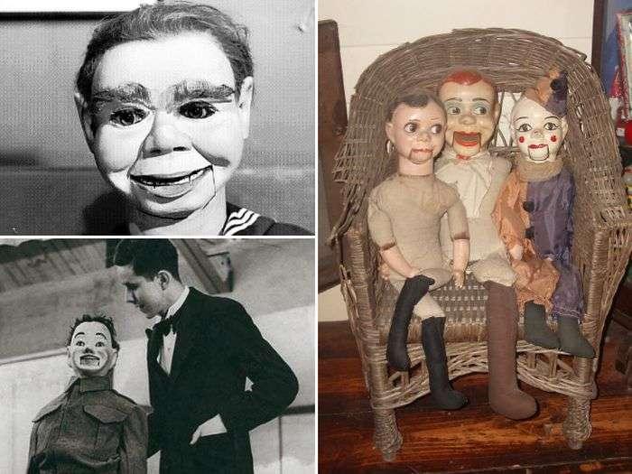 Страшні ляльки чревовещателей (15 фото)