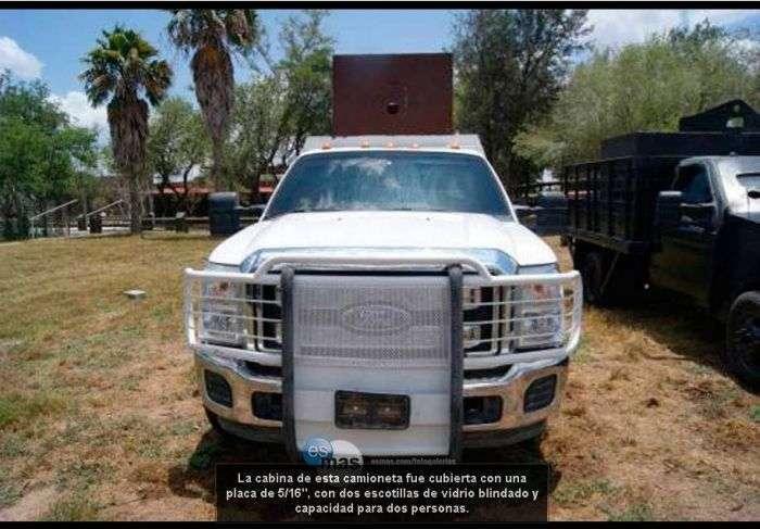 Броньовики мексиканських наркокартелів (30 фото)