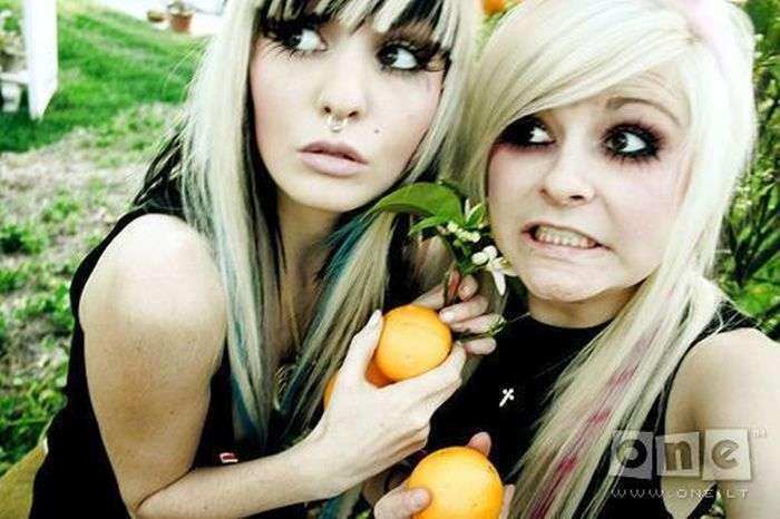 Представники субкультури емо (25 фото)