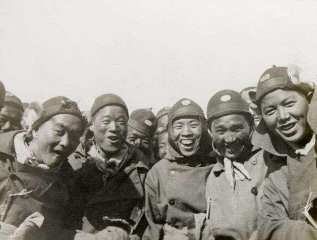 Китайські робітники на передовій Першої світової війни (13 фото)