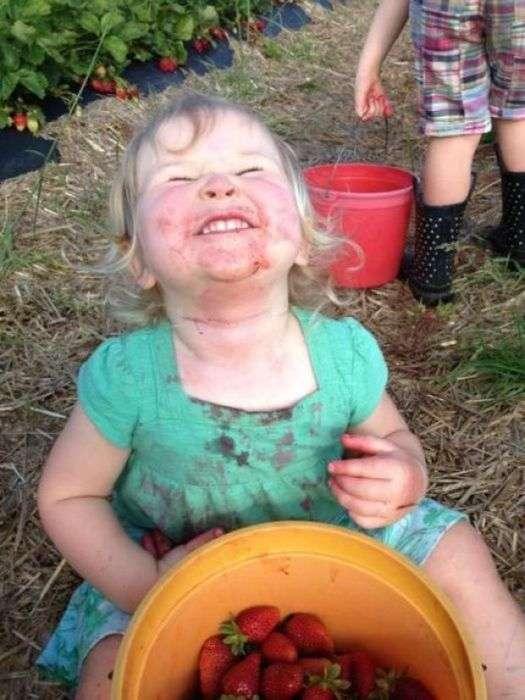 Забавні дитячі знімки (42 фото)