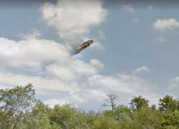 Дивні і незвичайні фото на Google Street View (29 фото)