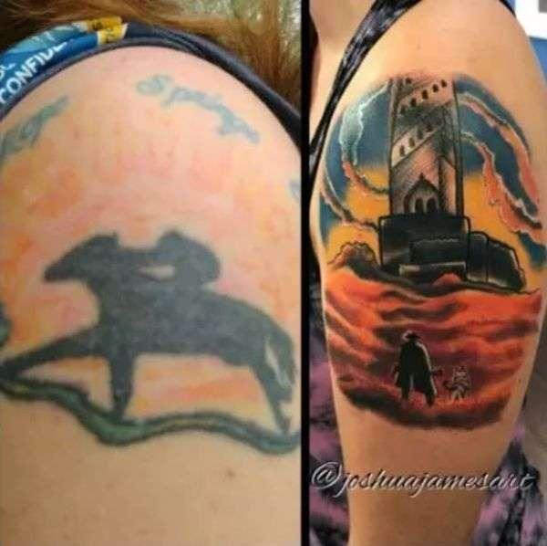 Виправлення старих татуювань (16 фото)