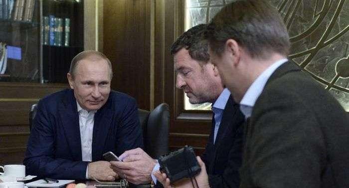 Викладене на сайті Кремля інтервю Путіна німецьким журналістам було позбавлене гострих питань (3 фото + текст)