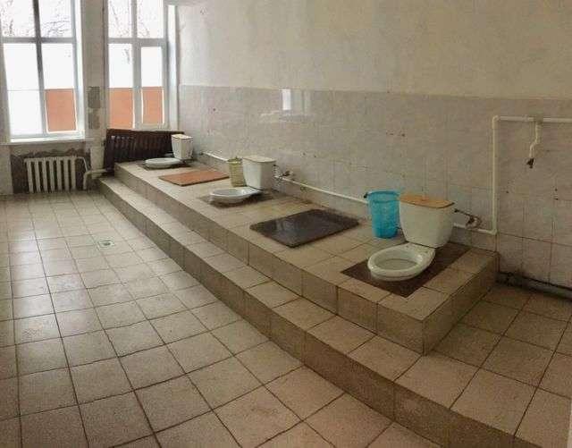 Туалет воронезького будинку культури (2 фото)
