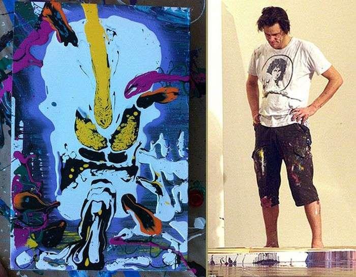 Джим Керрі захопився створенням картин (7 фото + відео)