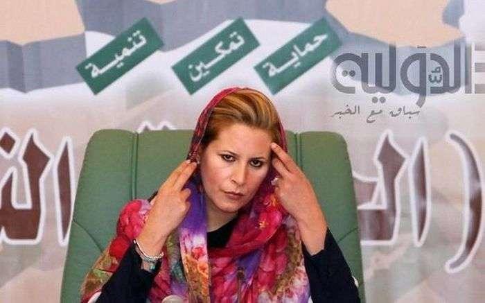 Айша Каддафі, дочка Муаммара Каддафі, - нова проблема НАТО в Лівії (5 фото)