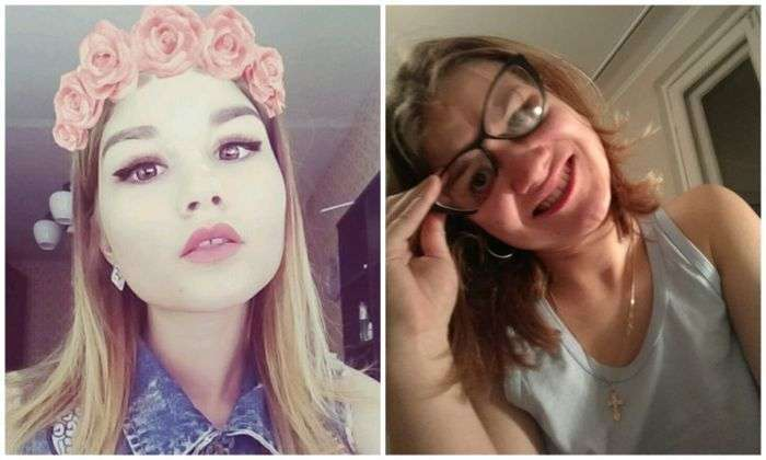 Прекрасні дівчата з соцмереж зовсім не такі прекрасні (19 фото)
