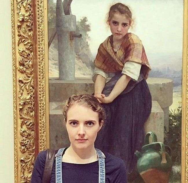 Коли зустрічаєш свого двійника на картині (16 фото)