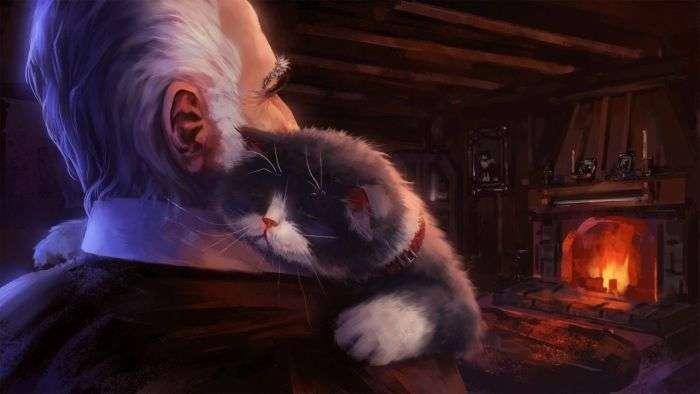 Пригоди кота-мандрівника (9 картинок)