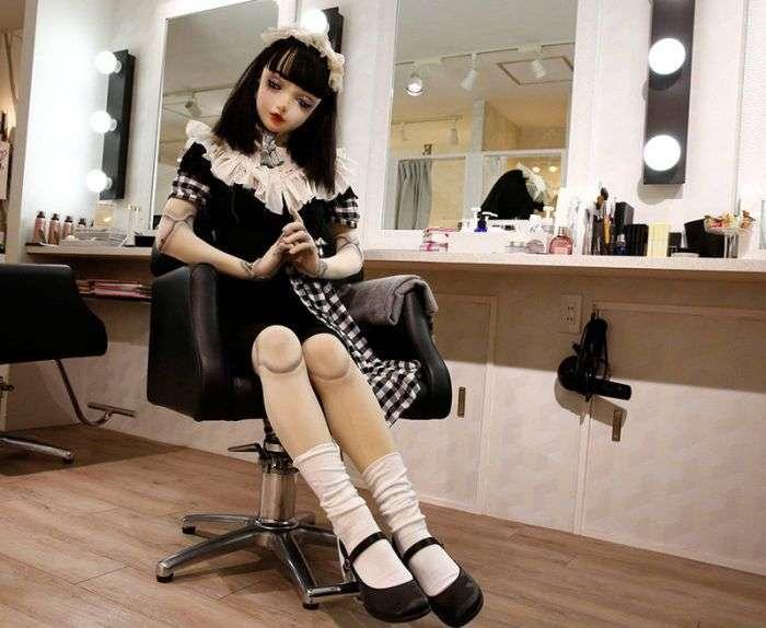 Лулу Хашимото - незвичайна жива лялька Японії (14 фото)
