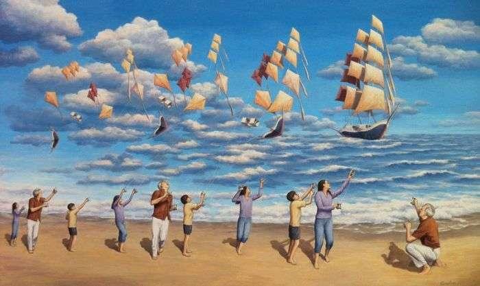 Незвичайні картини Роба Гонсалвеса (11 малюнків)