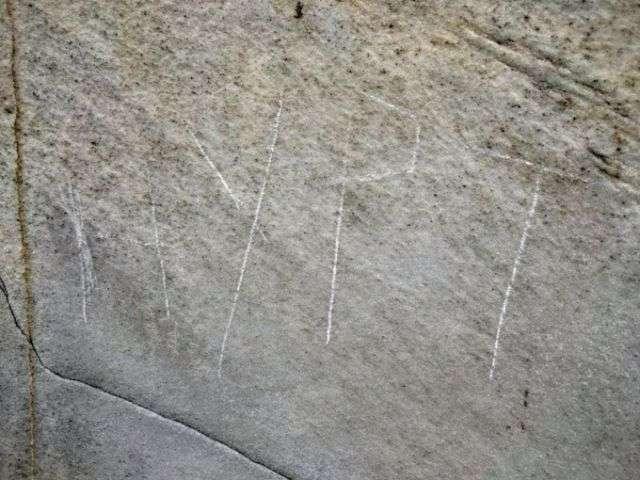 Житель Киргизії надряпав своє імя на меморіалі Лінкольна (3 фото)
