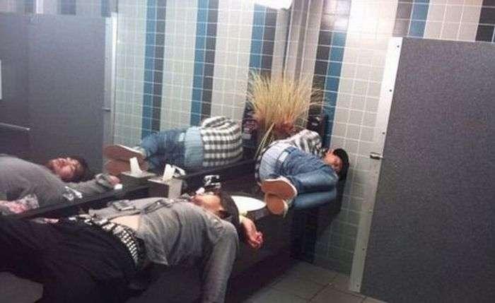 Чоловіки вміють відпочивати (27 фото)