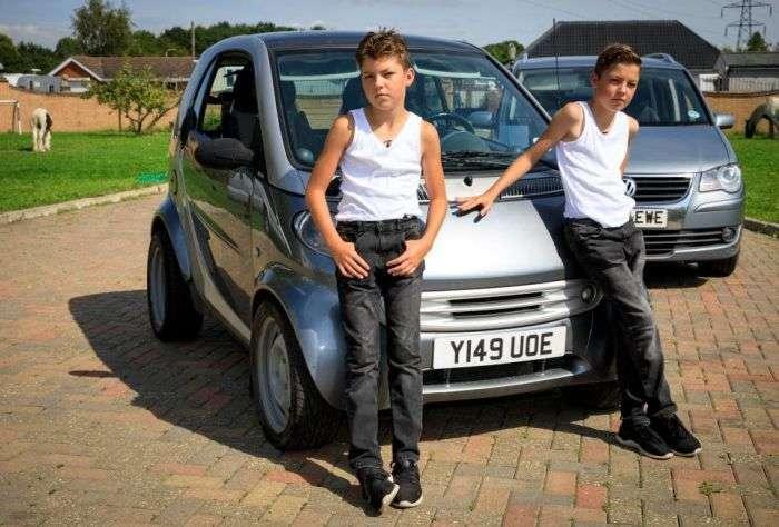 11-річні цигани з Британії стали героями телешоу (10 фото)