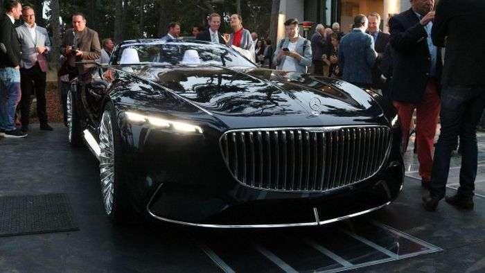 Daimler представив концептуальний кабріолет Mercedes Vision-Maybach 6 (15 фото)