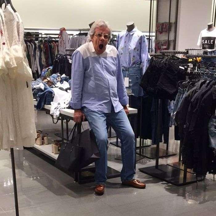 Чоловіки і шопінг (31 фото)