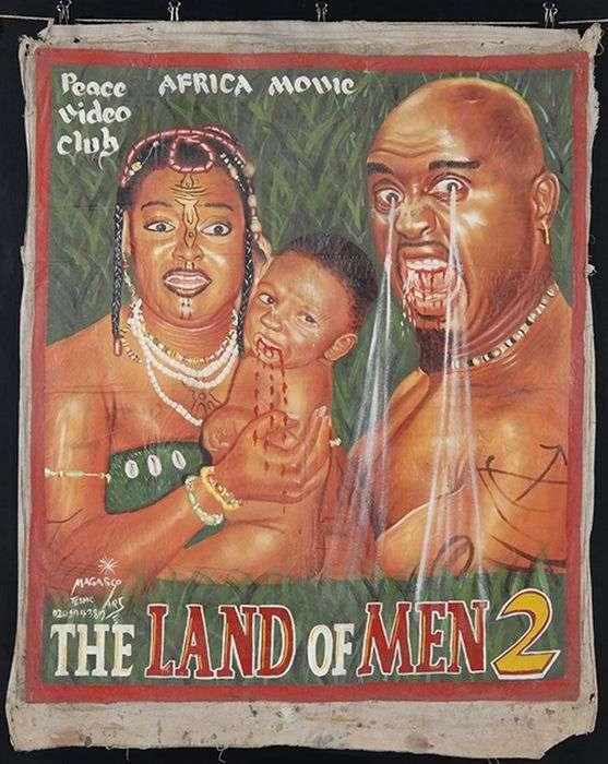 Африканські кіноплакати 90-х - 2000-х років (11 фото)