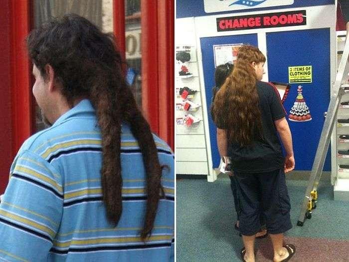 Незвичайні і безглузді чоловічі зачіски (15 фото)