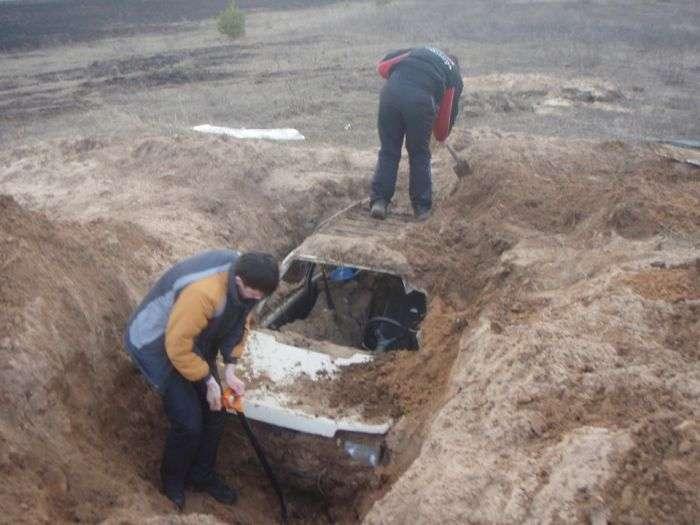 Похована «Ока» з Тверської області (9 фото)
