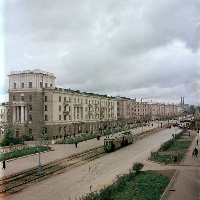 Нижній Тагіл в 50-х роках минулого століття (25 фото)