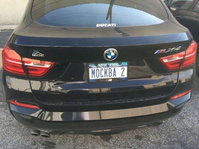 «Росіяни» номери на автомобілях в США (27 фото)