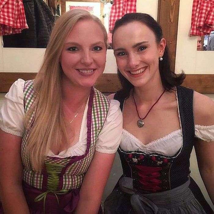 Октоберфест - рай для любителів пива і дівчат (39 фото)
