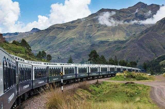 У Південній Америці запустили екскурсійний поїзд-готель Belmond Andean Explorer (11 фото)
