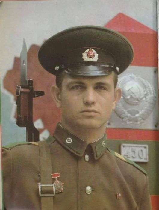 Радянські прикордонники (38 фото)