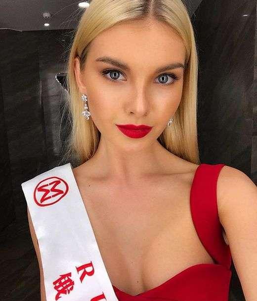 Чарівна Поліна Попова, яка представляла Росію на конкурсі «Міс Світу-2017» (20 фото)