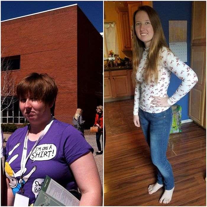 Неймовірні перевтілення людей, які страждали від зайвої ваги (24 фото)