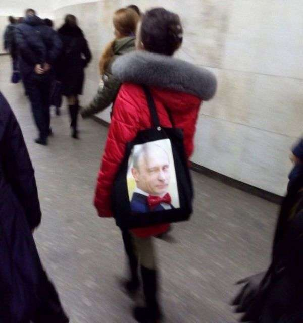 Фоподборка приколів з Путіним (41 фото)