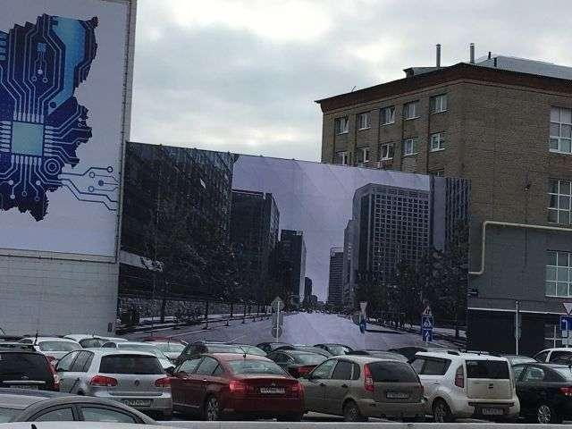 У Пермі до приїзду Путіна «звели» нову вулицю (4 фото)
