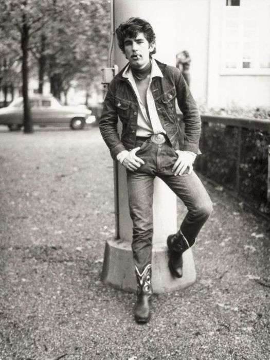 Хальбастарке - молодіжна субкультура Швейцарії в 50 - 60 роки (24 фото)
