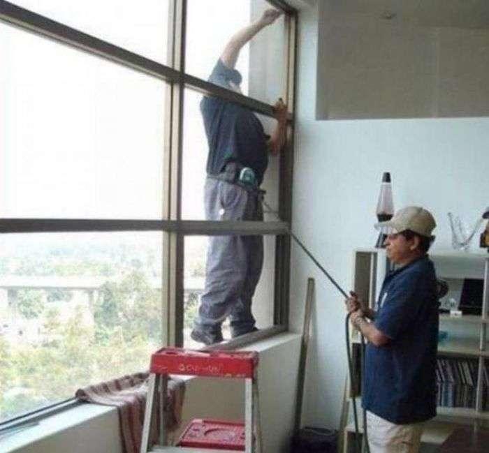 Люди, яким плювати на техніку безпеки (46 фото)