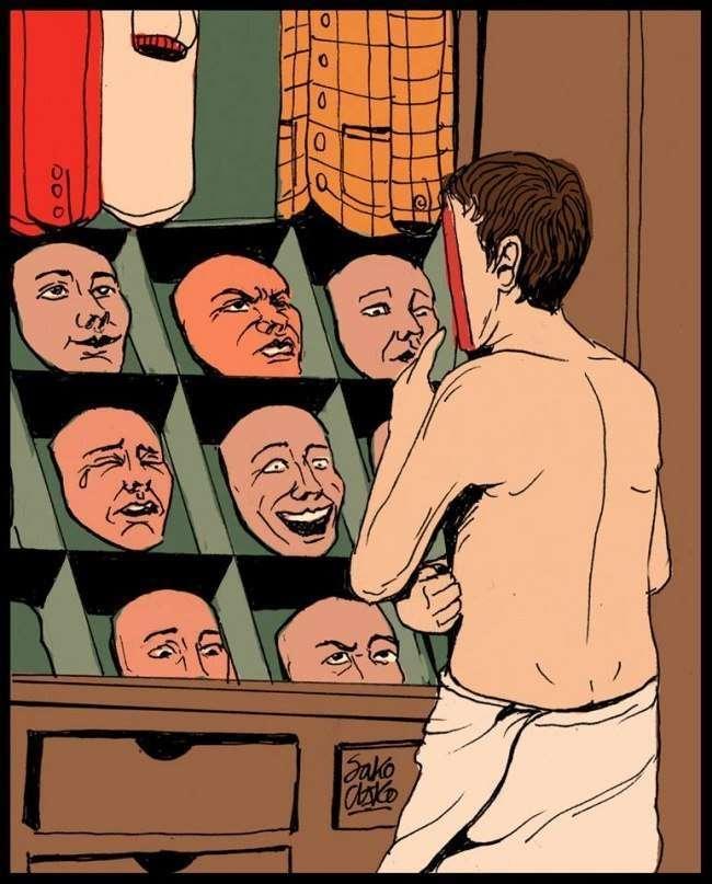 Життєві ілюстрації від Sako-Asko (10 картинок)