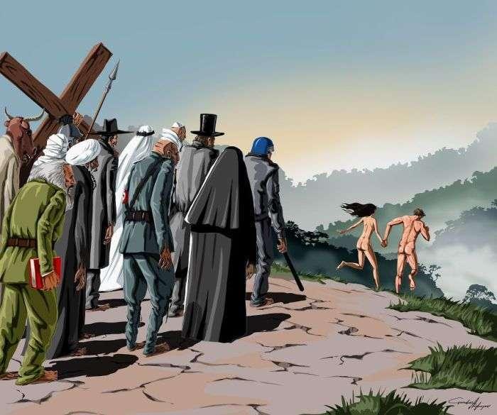 Гюндуз Агаєв зобразив проблеми сучасного суспільства (11 фото)